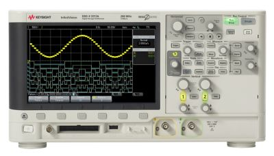 Keysight DSOX2BW12 Bandwidth upgrade - from 70MHz to 100MHz on 2000 X-series, 2-channel models