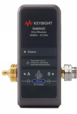 Keysight N4694D 1.85 mm ECal module 67 GHz, 2-port