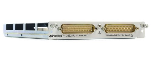 Keysight 34921A 40-Channel Armature Multiplexer Module for 34980A w/ low thermal offset