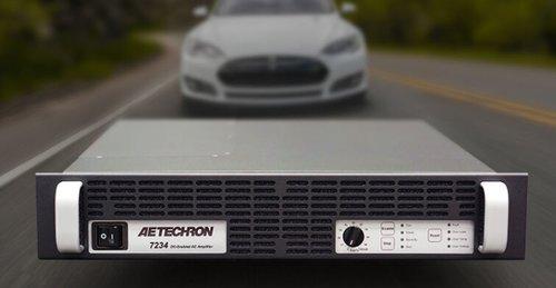 AE-TECHRON 7234 Single-phase, 2U, industrial amplifier/battery simulator