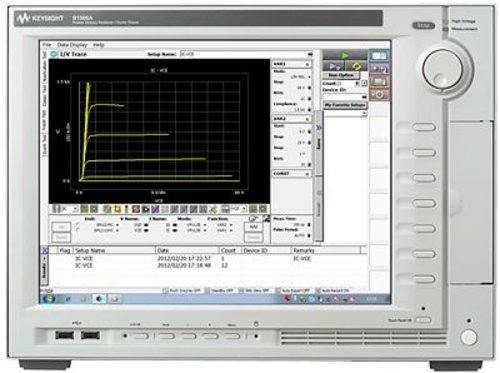 Keysight B1505A Power Device Analyzer/Curve Tracer Mainframe