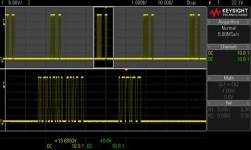 Keysight DSOX1EMBD Embedded Serial Triggering and Analysis (I2C, SPI, RS-232) for DSOX1000 series Oscilloscopes