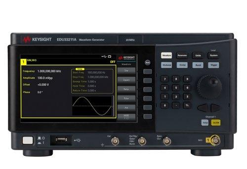 Keysight EDU33211A 20 MHz Single Channel Function/Arbitrary Waveform Generator