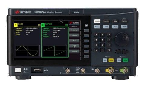 Keysight EDU33212A 20 MHz Dual Channel Function/Arbitrary Waveform Generator