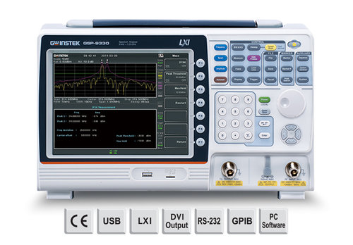 GW-INSTEK GSP-9330TG 3.25GHz Spectrum Analyzer TG