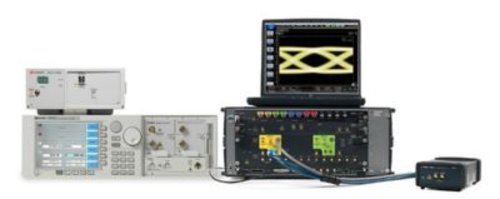 Keysight N4917BACA Optical Receiver Stress Test compliance app for 100G IEEE and MSAs