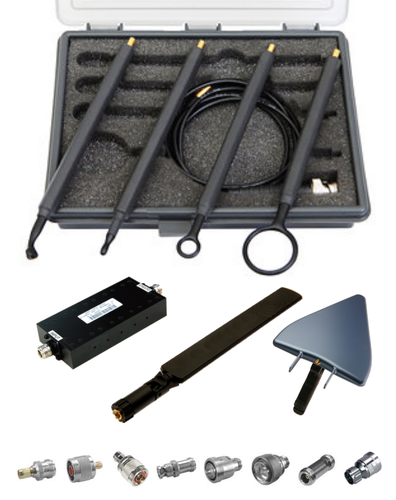 Keysight N9311X RF and microwave accessory kit for low-cost benchtop and handheld analyzers